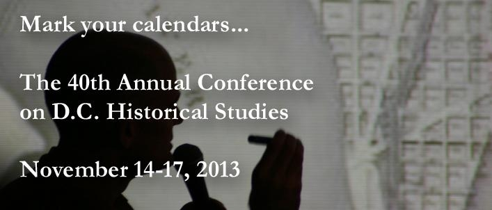 40th Annual Conference on D.C. Historical Studies